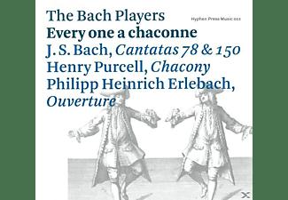 Johann Sebastian Bach, The Bach Players - Every one a chaconne  - (CD)