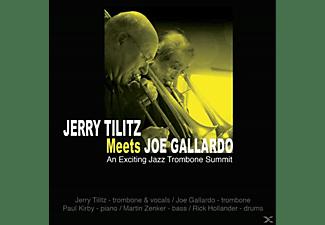 Jerry Tilitz, Tilitz,Jerry/Gallardo,Joe - Jerry Tilitz Meets Joe Gallardo: An Exciting Jazz  - (CD)