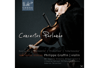 BBC Symphony Orchestra, Lithuanian National Philharmonic Orchestra, Philippe Graffin - Concertos Parlando - (CD)
