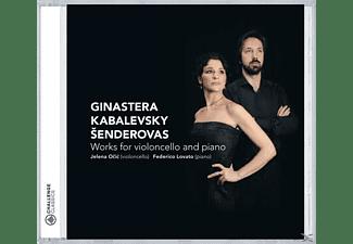 Jelena Ocic & Federico Lovato - Ginastera/Kabalevsky/Senderovas  - (CD)
