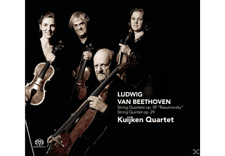 Kuijken Quartet - Streichquartette op.59 And 29  - (CD)