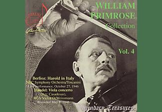 PRIMROSE/TOSCANINI/WEISSMANN - Primrose Vol.4  - (CD)
