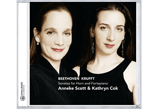 Anneke Scott & Kathryn Cok - HORNSONATEN (BEETHOVEN/KRUFFT/HAYDN/LEIDESDORF/UA)  - (CD)