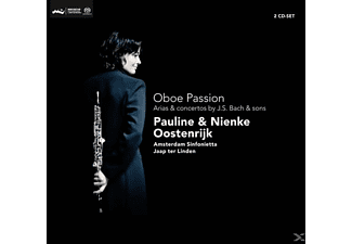 OOSTENRIJK,PAULINE & OOSTENRIJK,NIENKE - Oboe Passion-Arias & Concertos By  - (CD)