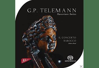 Il Concerto Barocco - Ouverturen  - (CD)
