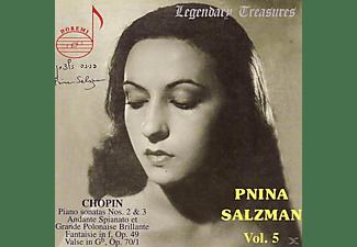 Pnina Salzman - Salzman Vol.5 Chopin  - (CD)