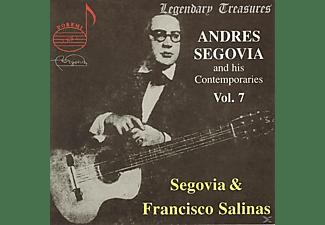 Andrés Segovia, Francisco Salinas, Yanez - Segovia & Zeitgenossen Vol.7  - (CD)
