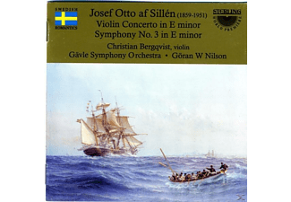 Christian  Bergqvist, Gavle Symphony Orchestra - Violin Concerto In E Minor / Symphony No.3 In E Minor - (CD)