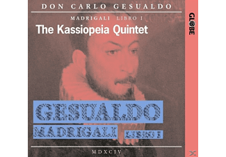The Kassiopeia Quintet - Madrigale 1.Buch (1594) - (CD)