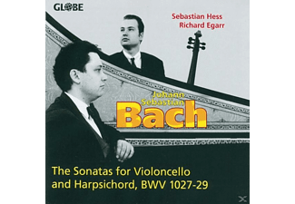 HESS/EGARR - The Sonatas for Violoncello and Harpsichord - (CD)