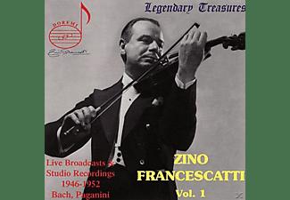Zino Francescatti, Johann Sebastian Bach, Niccolò Paganini - Zino Francescatti Vol. 1  - (CD)
