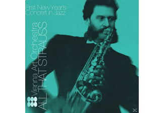 Vienna Art Orchestra, Vienna Art Orchestra-first New Year's Concert In - ALL THAT STRAUSS  - (CD)