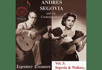 Andrés Segovia, Luise Walker - Segovia & Walker Vol.3  - (CD)