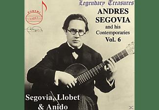 Andrés Segovia - Segovia & Zeitgenossen Vol.6  - (CD)