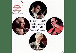 Janos Starker, Ferras/Tortelier/Starker/Martinon/Radio France - Ferras Plays Beethoven/Brahms  - (CD)