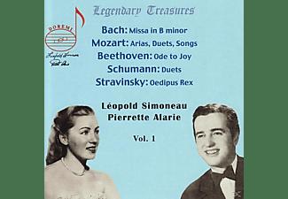 Simoneau, Alarie, Amsterdam Philharmonic, Simoneau/Alarie/Amsterdam Philharmonic/+ - Simoneau & Alarie  - (CD)
