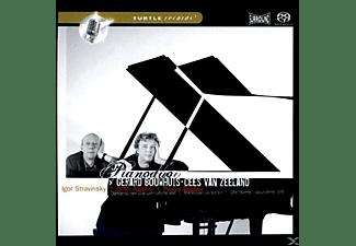 BOUWHUIS,GERARD & ZEELAND,CEES, Duo Bouwhuis & Van Zeeland - Strawinsky | Adams | Boulez  - (CD)