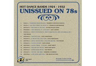 VARIOUS - Unissued on 78s Hot Dance Bands 1924-1932  - (CD)