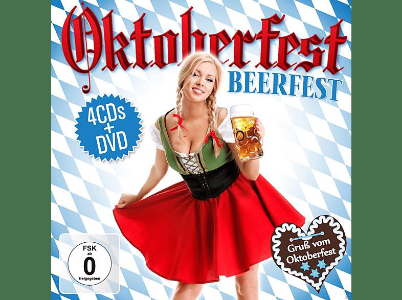 VARIOUS - Oktoberfest-Beerfest (Box-Set) [CD + DVD]