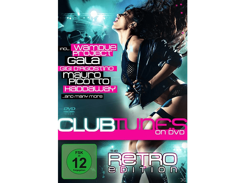 VARIOUS - Clubtunes On Dvd - The Retro Edition [DVD]