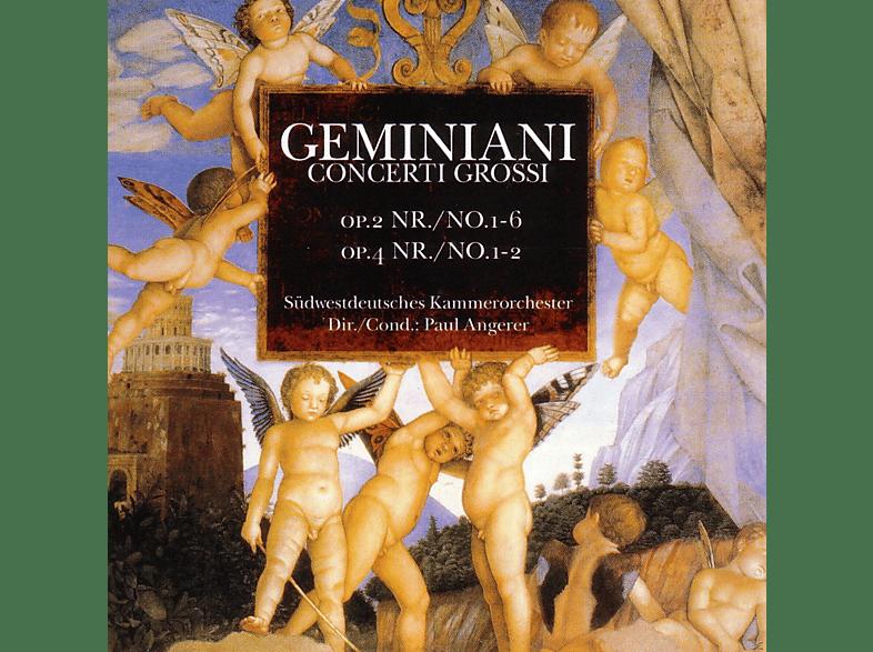 Südwestdeutsches Kammerorchester - CONCERTI GROSSI OP.2+4 [CD]