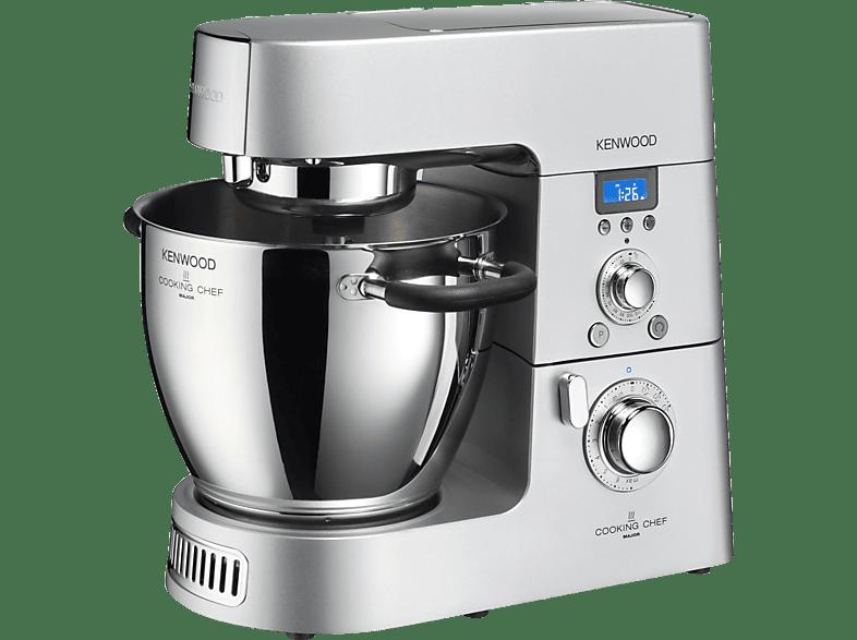 KENWOOD KM 096 Cooking Chef Küchenmaschine mit Kochfunktion, Silber