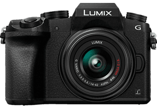 PANASONIC Hybride camera Lumix DMC-G7 + 14-42 mm