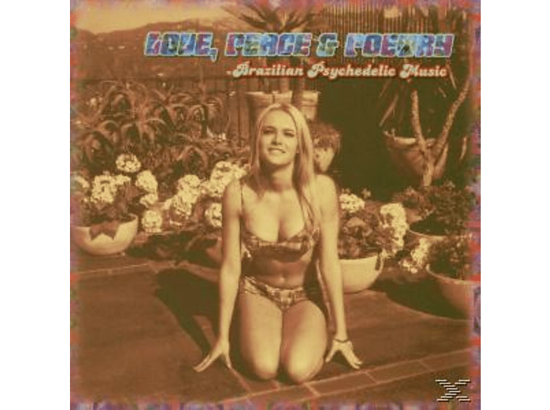 VARIOUS - Love, Peace & Poetry-Brazilian Psychedelic Music [CD]