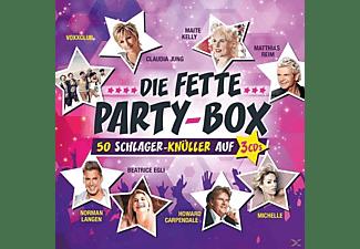 VARIOUS - Die Fette Party-Box  - (CD)