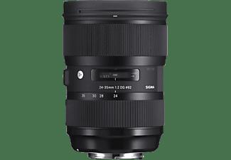 SIGMA 588954 24 mm - 35 mm f/2 DG, HSM (Objektiv für Canon EF-Mount, Schwarz)