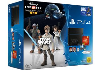 SONY PlayStation 4 500GB Schwarz Neu CUH-1200 inkl. Disney Infinity 3.0: Play Without Limits