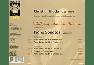 Christian Blackshaw - Klaviersonaten Vol.3  - (CD)