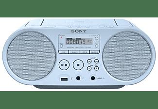 Radio CD - Sony BoomboxZsps50L, Azul Claro