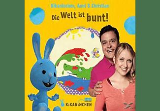 Christian & Anni Kikaninchen - Die Welt Ist Bunt! Das 3.Album  - (CD)