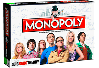 WINNING MOVES Monopoly Big Bang Theory Brettspiel, Mehrfarbig