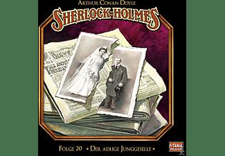 Arthur Conan Doyle - Sherlock Holmes-Folge 20 - Der Adlige Junggeselle  - (CD)