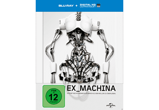 Ex Machina (Limited Steelbook Edition) Blu-ray