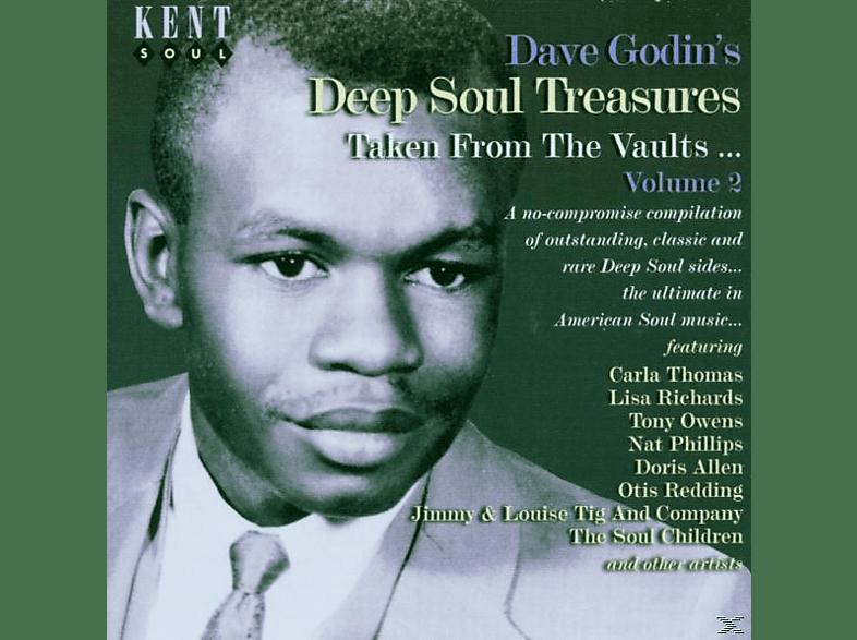 VARIOUS - Dave Godin's Deep Soul Treasures 2 [CD]