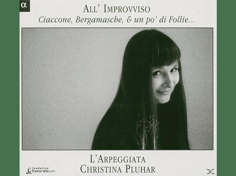 Trovesi - All Improviso-Ciaccone, Bergamasche&Un Po' Di Folli [CD]