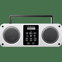 SDIGITAL Mission Bluetooth Boombox (FM, Weiß)
