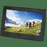 BRAUN 21196 Digiframe 1360 Digitaler Bilderrahmen, 33 cm, 1.366 x 768 Pixel, Schwarz