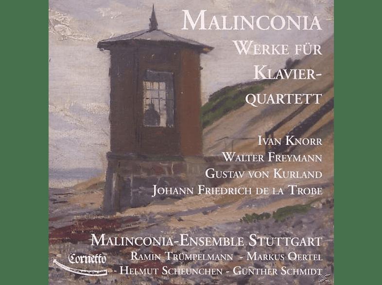 Claus-Dieter Freymann, Achim Knorr, Trobe, Malinconia Ensemble Stuttgart - Werke Für Klavier-Quartet [CD]
