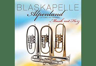 Blaskapelle Alpenland - Musik mit Herz  - (CD)