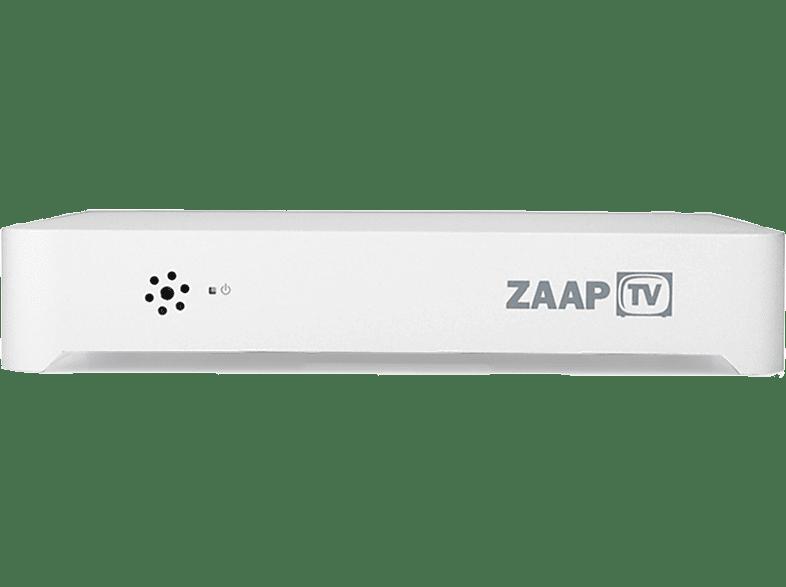 ZAAPTV ZaapTV HD509N IPTV Streaming-Client (Silber)