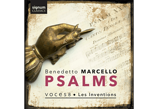Voices 8, Les Inventions - Psalms-Aus Estro Poetico-Armonico  - (CD)