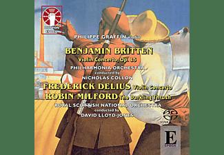 Royal Scottish National Orchestra, Philippe Graffin - Violinkonzerte  - (SACD Hybrid)