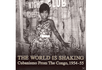 VARIOUS - The World Is Shaking: Cubanismo From The Congo 1954-1955 (LP) [Vinyl]