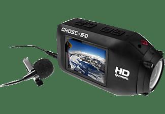 DRIFT External Microphone, Mikrofon, Schwarz, passend für Actioncams