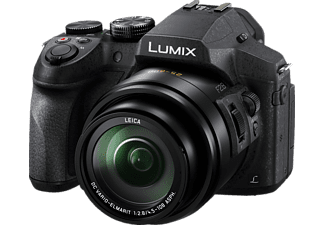 PANASONIC Lumix DMC-FZ300 LEICA Bridgekamera Schwarz, 24x opt. Zoom, TFT-LCD