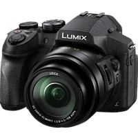 PANASONIC Lumix DMC-FZ300 LEICA Bridgekamera Schwarz, 12.1 Megapixel, 24x opt. Zoom, TFT-LCD